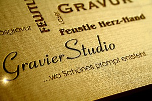 Gravierstudio - Wissenswertes über Lasergravuren